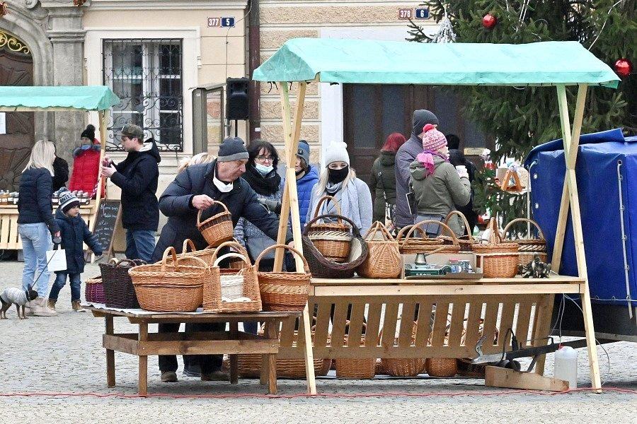 Sobota 19. prosince byla posledním dnem konání vánočních trhů na Palackého náměstí v Kutné Hoře.