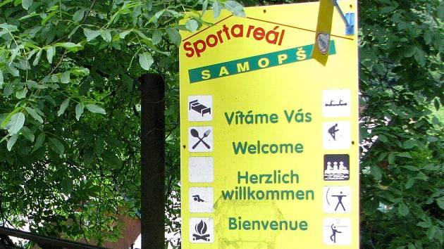 Sport - areál Samopše nabízí čisté prostředí a sportovní vyžití