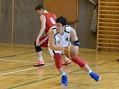 Kutnohorský basketbalista Jan Málek.