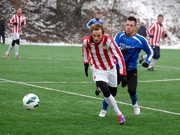Příprava: Kutná Hora - Kolín 0:1, 16.února 2013.