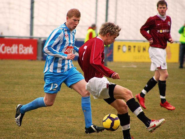 II. liga, 17. kolo: AC Sparta Praha B - FC Zenit Čáslav, 20. března 2010.