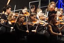 Koncert Středočeské filharmonie mladých v GASK, 27. září 2016