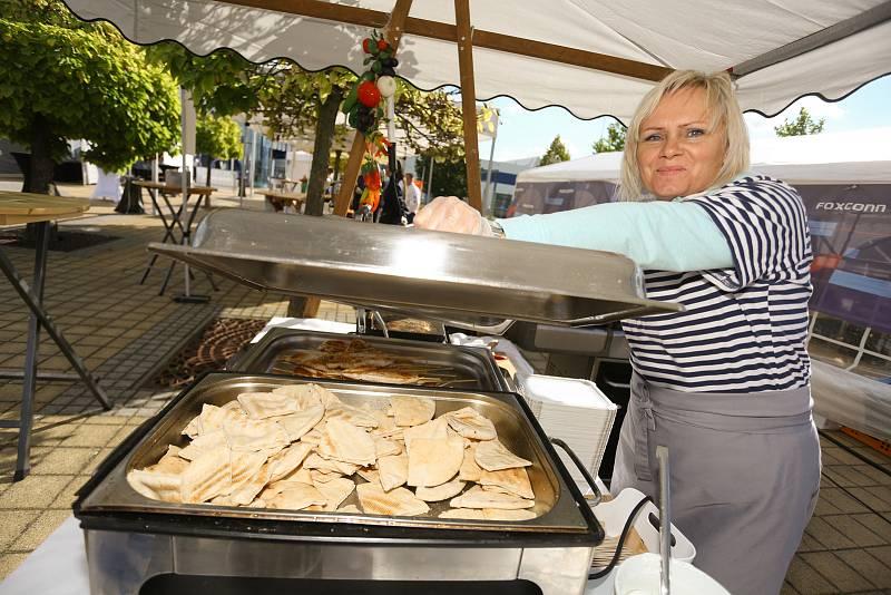 Z festivalu Foxconn Street Food Fest v Kutné Hoře.