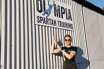 Dakarská závodnice na čtyřkolkách Olga Roučková trénovala s týmem Olympia Spartan Training Kutná Hora.