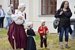 V Malešově se tradičně dobývala tvrz.