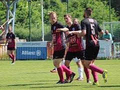 Fotbalisté Čáslavi zvítězili v předkole MOL cupu na hřišti pražské Aritmy 2:0 a vybojovali si tak možnost nastoupit v 1. kole této soutěže proti druholigové Příbrami.