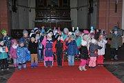 Vánoční koncert zaplnil kostel ve Vavřinci.