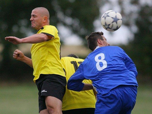 Z utkání III. třídy Miskovice - Potěhy 1:2, sobota 20. září 2008