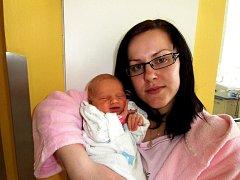 Sára Černohlávková se narodila 24. dubna v Čáslavi. Vážila 3000 gramů a měřila 49 centimetrů. Doma ve Zbraslavicích ji přivítali maminka Klára a tatínek Milan.