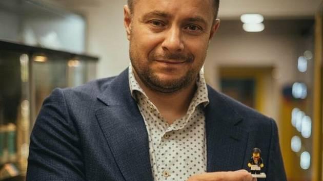 Vlastník jedné z největších soukromých sbírek Lega na světě Miloš Křeček.