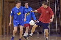 Z 19. hracího dne kutnohorské Futsal ligy Restaurace Na Valech.