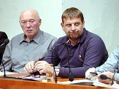 Nový kutnohorský radní Ivan Sova (vpravo). 29.1.2013