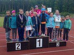 Atletické přípravky SKP Olympia Kutná Hora sbíraly úspěchy na závodech v Kolíně.