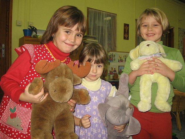 Děti v červenojanovické mateřské škole.
