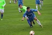 Hlízov bodoval i v pátém kole. Sokoleč porazil 2:0.