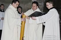 Velikonoční vigilie u kostele sv. Jakuba v Kutné Hoře