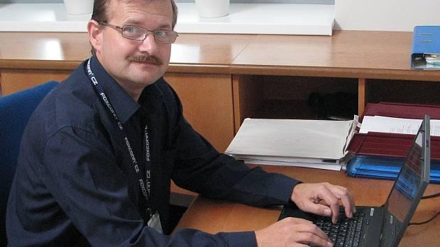 Ředitel kutnohorského závodu společnosti Foxconn Jan Černý.