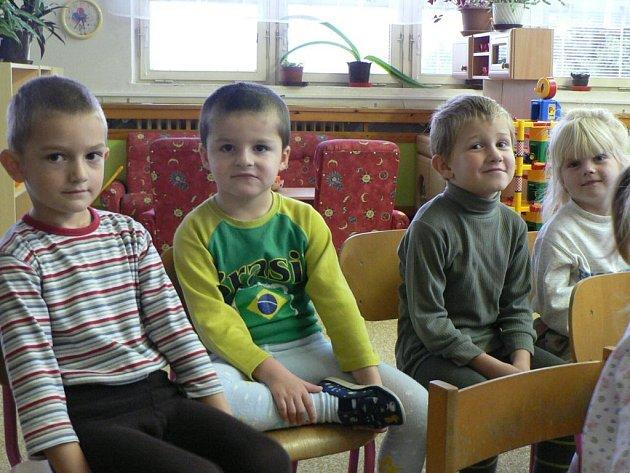 Děti Mateřské školy Benešova 2 se opravdu strašidel nebály.