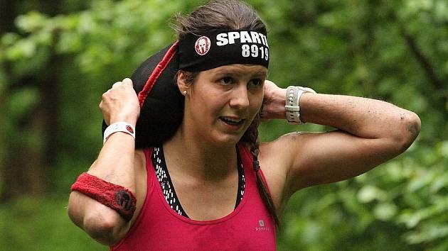 Martina Fabiánová na závodech Spartan Race ve Vídni.