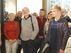 Výstava v Dačického domě slaví Santiniho výročí.