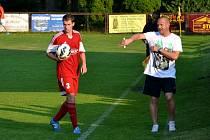 Fotbalisté Suchdola vyhráli v Jablonci nad Jizerou 3:1, 8. srpna 2015.