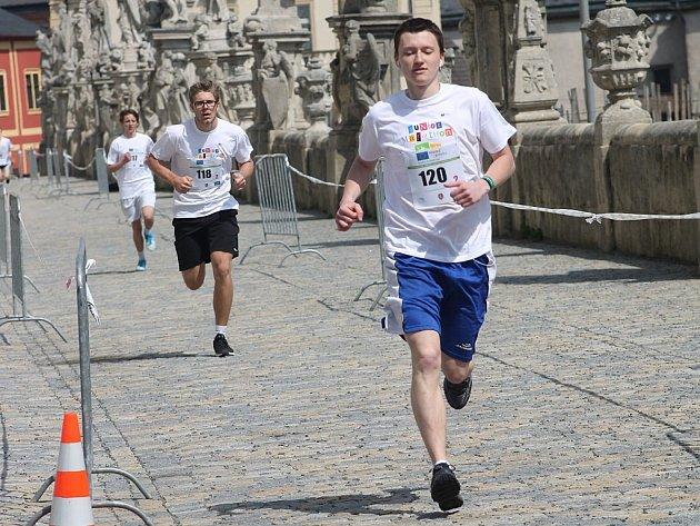 Juniorský maraton 2013 v Kutné Hoře 24. dubna.