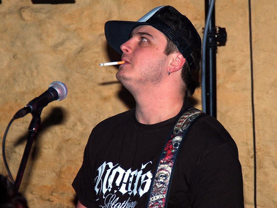 Koncert Wootochit v klubu Česká 1 v Kutné Hoře. 22. 1. 2011