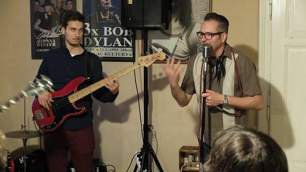Charlie Slavík Revue v Blues Café v Kutné Hoře 21. dubna