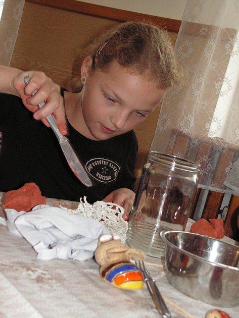 Šikovné dětské ruce spolu s fantazií dokáží vytvořit neuvěřitelně pěkné výrobky.