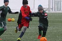 Přípravný fotbalový zápas mladších žáků Čáslav D - Chvaletice 5:3 (4:3).