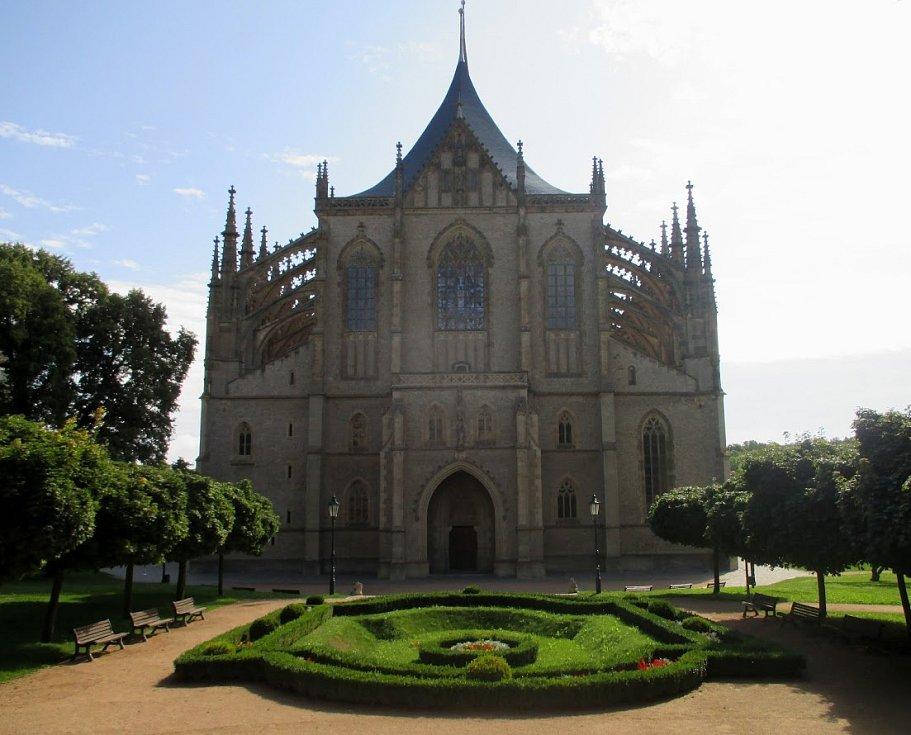 Kutná Hora, chrám svaté Barbory.