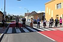 Návštěva krajských radních Martina Hermana (ANO) a Karla Horčičky (ČSSD) na Kutnohorsku začala v úterý 14. května 2019 v Suchdole.