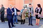Z připomenutí výročí vzniku Československé republiky v Uhlířských Janovicích.