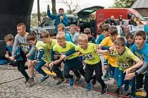 Start Zručského májového běhu v roce 2019.