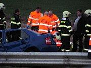 Tragická dopravní nehoda na čáslavském obchvatu v lokalitě Kalabousek.