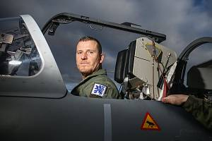 Vojenský pilot Aleš Seidl.