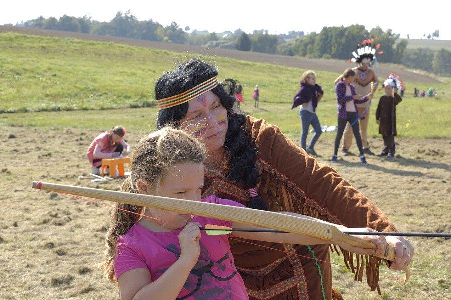 Děti si užily Pohádkové putování v Bohdanči.
