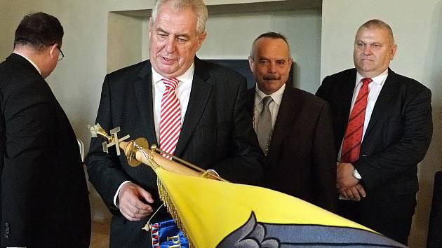 V rámci třídenní návštěvy prezidenta České republiky Miloše Zemana ve Středočeském kraji v roce 2013 si hlava státu prohlédla také Kutnou Horu.