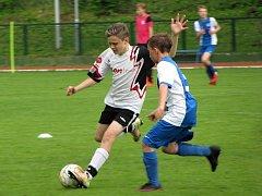 Česká liga žáků U13, neděle 14. května 2017: FK Čáslav - FC Slovan Liberec 6:6.