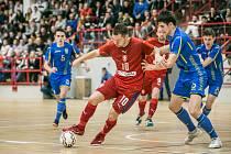 Česká futsalová reprezentace se v Kutné Hoře střetla s Ukrajinou a prohrála 2:4.