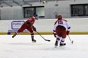 Česká hokejová reprezentace U16 podlehla svým vrstevníkům z Ruska na čáslavském zimním stadionu 3:6.