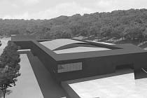 Projekt změny podoby zimního stadionu.