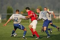 Z fotbalového střetnutí I.B třídy Zbraslavice - Chocerady (7:0)