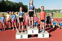 Atletické přípravky SKP Olympia Kutná Hora se zúčastnily závodů ve Vlašimi.
