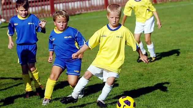 Nejmladší fotbalisté se utkali v turnaji Okresního přeboru na Spartě Kutná Hora.
