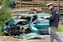 Vážná dopravní nehoda mezi Zavadilkou a Černíny