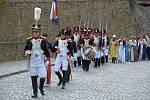 Historické slavnosti  připomněly Napoleona.