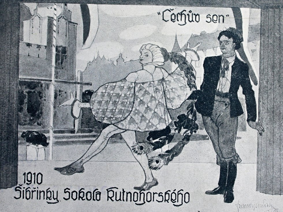 Tématem Šibřinek v roce 1910 byl Čechův sen.