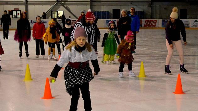 Karneval na ledě na zimním stadionu v Čáslavi.