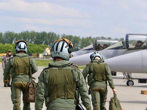 Čeští stíhači si z mezinárodního cvičení NATO Tiger Meet 2018 odnášejí třetí místo.